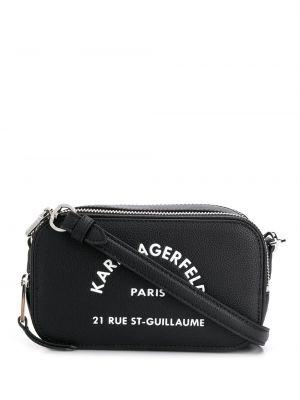 Сумка через плечо на плечо черная Karl Lagerfeld