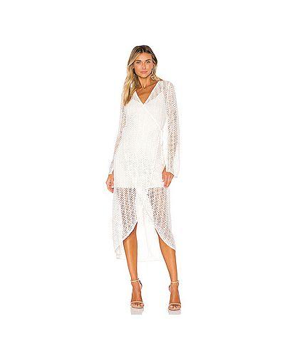 Облегающее платье с запахом платье-комбинация Line & Dot