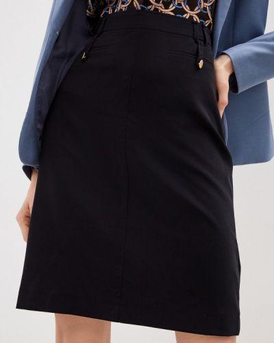 Прямая черная юбка карандаш Gerard Darel