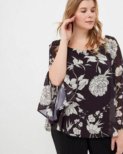 Блузка с коротким рукавом черная Piazza Italia