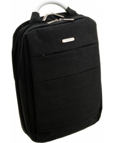 Czarny plecak casual David Jones