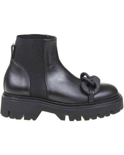 Czarne ankle boots N°21