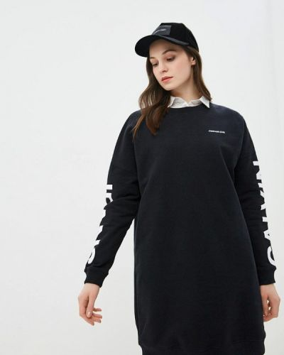 Платье весеннее платье-толстовка Calvin Klein Jeans