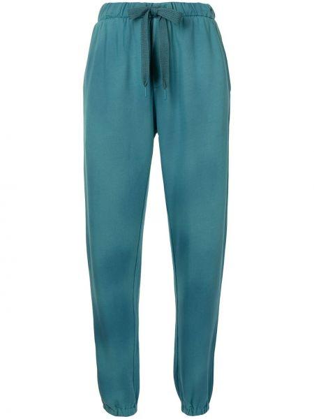 Флисовые спортивные брюки - зеленые The Upside