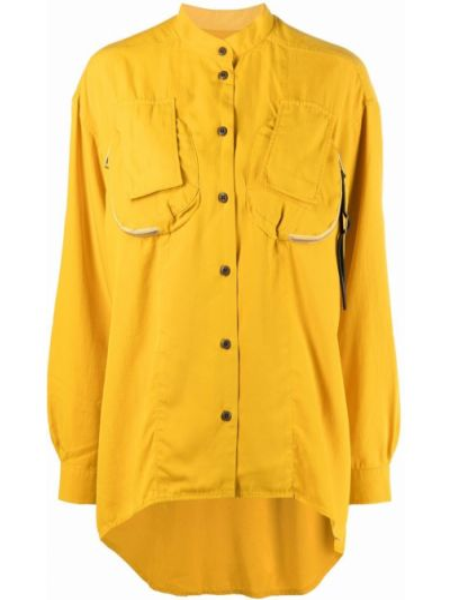 Рубашка с карманами - желтая Diesel