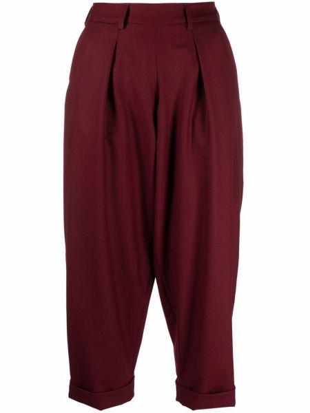 Укороченные брюки - красные SociÉtÉ Anonyme