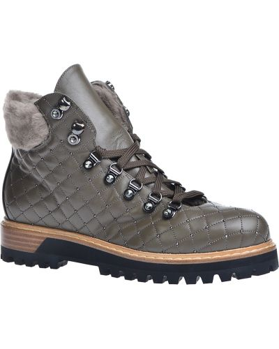 Кожаные сапоги на каблуке на каблуке Le Silla