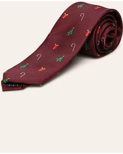 Krawat z wzorem fioletowy Jack & Jones