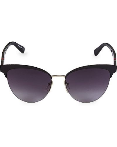 Солнцезащитные очки классические - черные Longchamp