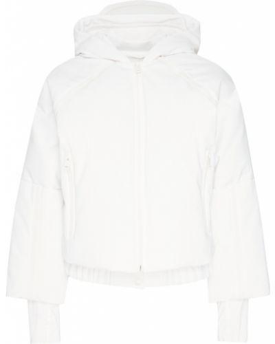 Куртка с капюшоном на молнии укороченная Fendi