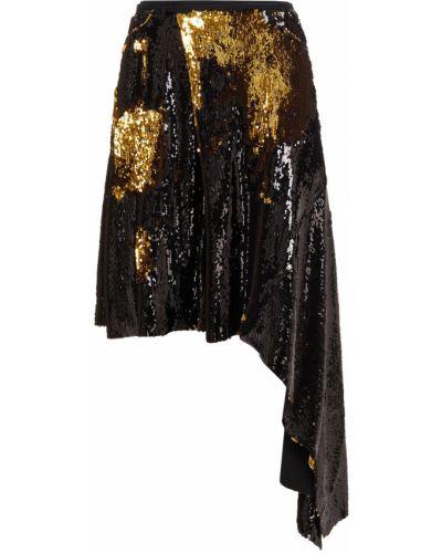 Czarna spódnica tiulowa asymetryczna Marques Almeida