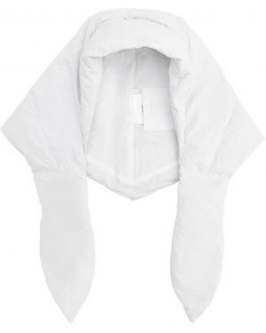 Biały kapelusz z kapturem Ienki Ienki