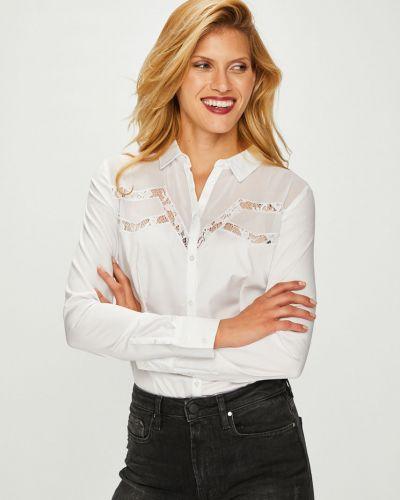 Блузка с длинным рукавом прямая классическая Guess Jeans