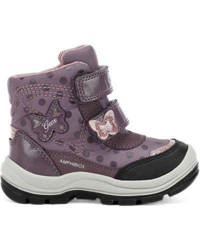 Ботинки фиолетовый сиреневый Geox