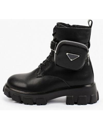 Черные зимние ботинки O-live Naturalle