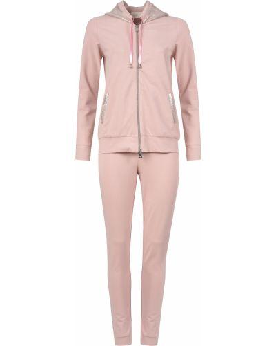 Костюмный розовый спортивный костюм Morgano