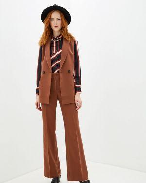 Брючный костюм коричневый Villagi