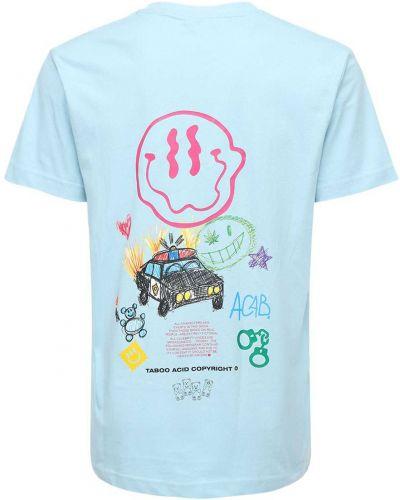 Niebieski t-shirt Taboo