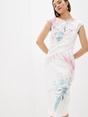 Белое платье-футляр Ted Baker London