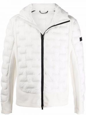 Белая куртка с капюшоном Peuterey