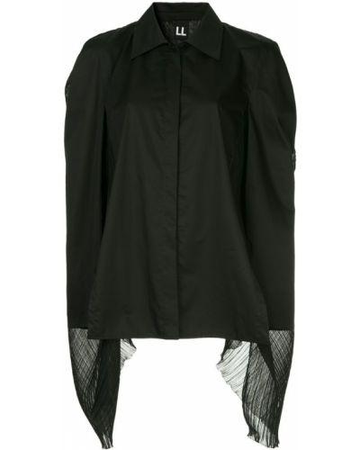 Блузка с длинным рукавом в полоску оверсайз Ll By Litkovskaya