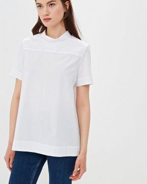 Блузка с бантом белая Villagi