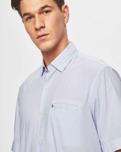 Рубашка с короткими рукавами с карманами тонкая Pierre Cardin