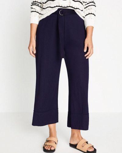 Синие повседневные брюки Violeta By Mango