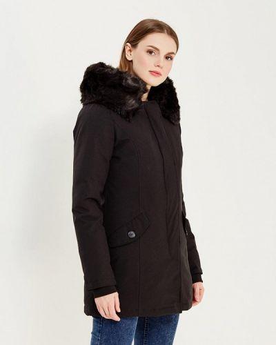 Утепленная черная куртка Paragoose