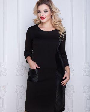 Платье с вырезом прямое Diolche