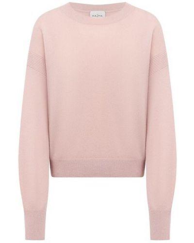 Кашемировый пуловер - розовый Le Kasha