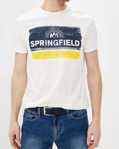 Футболка белая Springfield