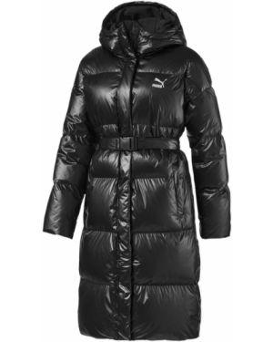 Утепленная куртка длинная нейлоновая Puma