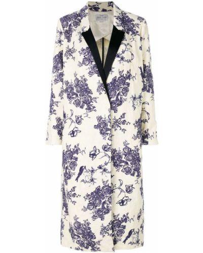 Пальто с цветочным принтом с принтом Forte Forte