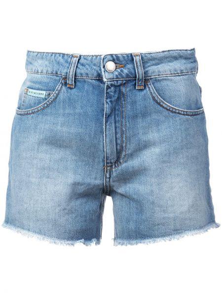 Однобортные шорты на пуговицах Alexa Chung