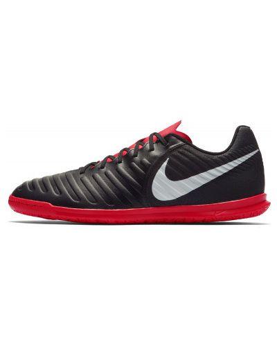 Черные бутсы зальные Nike