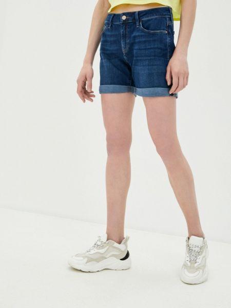 Синие джинсовые шорты Mavi
