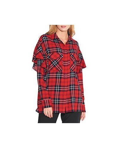 Рубашка красный ли-лу