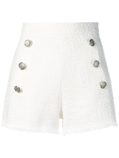Хлопковые шорты - белые Forte Dei Marmi Couture
