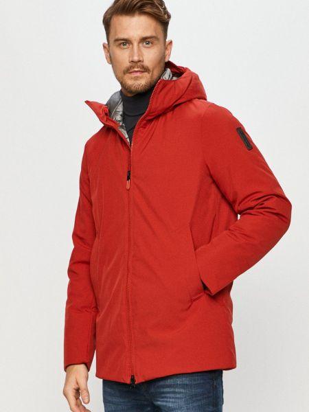 С рукавами красная куртка с капюшоном Bomboogie