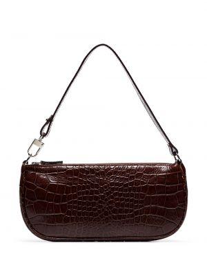 Кожаная сумка - коричневая By Far