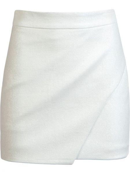 Юбка мини с завышенной талией - белая Michelle Mason