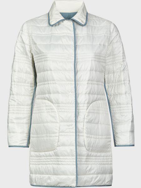 Белая куртка двусторонняя на кнопках Gallotti