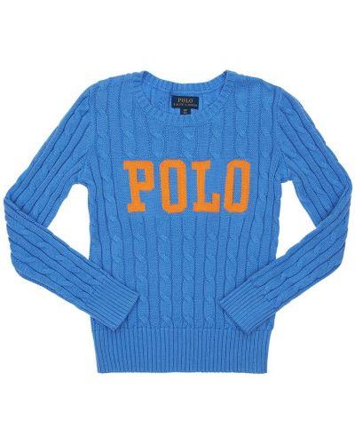 Sweter na szyi Ralph Lauren