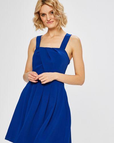 Платье мини из полиэстера расклешенное Morgan