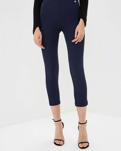 Синие брюки повседневные Blugirl Folies