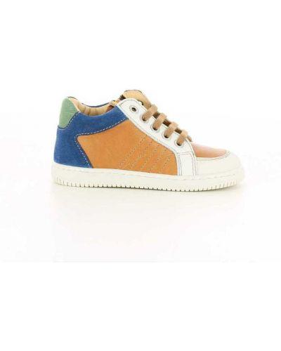 Brązowe sneakersy Ocra