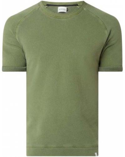 Zielony t-shirt bawełniany krótki rękaw Nowadays