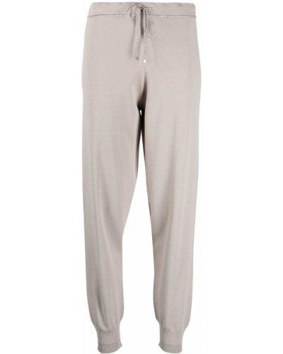 С кулиской трикотажные зауженные брюки D.exterior