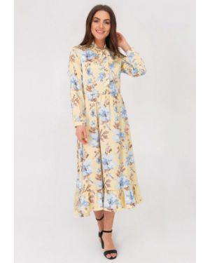 Платье - желтое Vsv